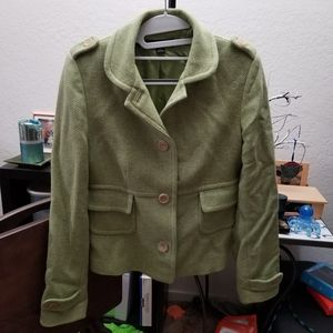 Military style jacket for spring